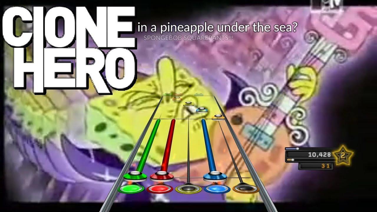 Guitar Hero - SpongeBob SquarePants Theme - Avril Lavigne