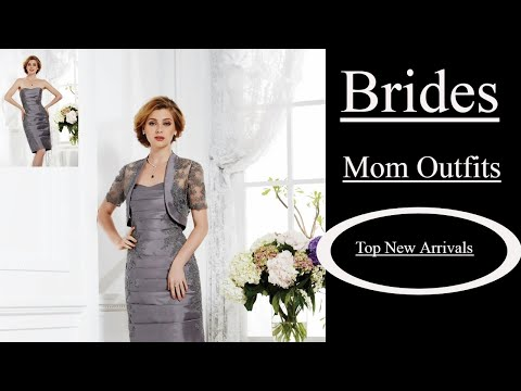 Mother Of The Bride Dresses With Jackets Knee Length 2018|Top 10 Newest Arrivals