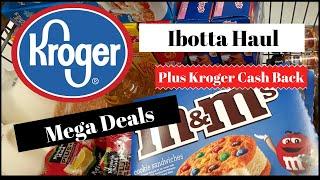Ibotta Haul || Kroger in Store Shopping || Mega Deals