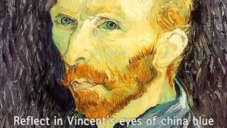 Don McLean - Vincent ( Starry, Starry Night) With Lyrics-Gogh