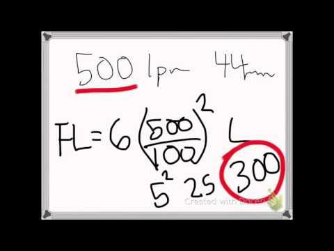 Friction Loss (Q Formula)