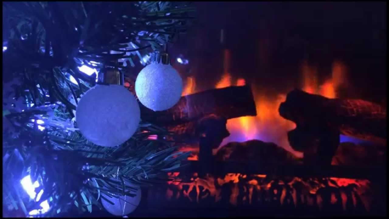 An Asmr Christmas Silent Fireplace Christmas Scene