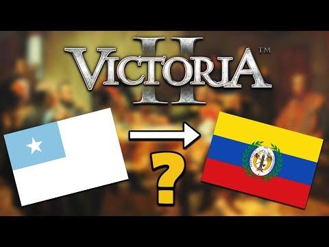 Ecuador to Gran Colombia - Victoria II  