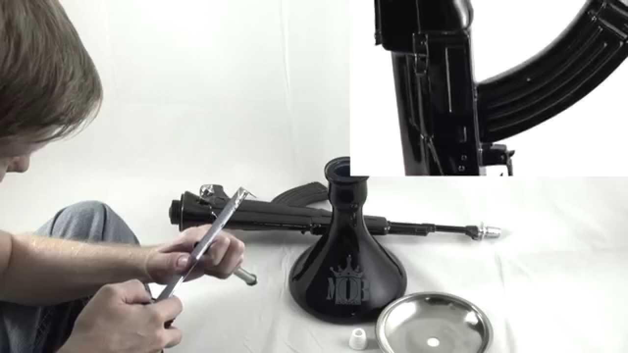 AK Hookah - MOB Hookah AK-47