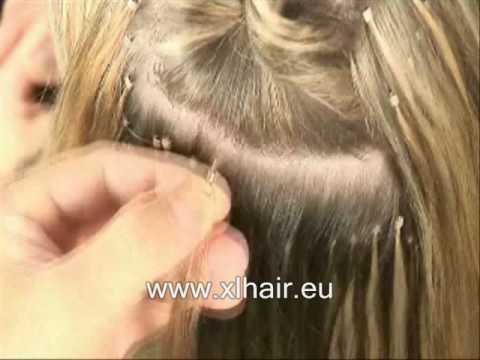 How to apply ring or link hair extensions youtube pmusecretfo Image collections