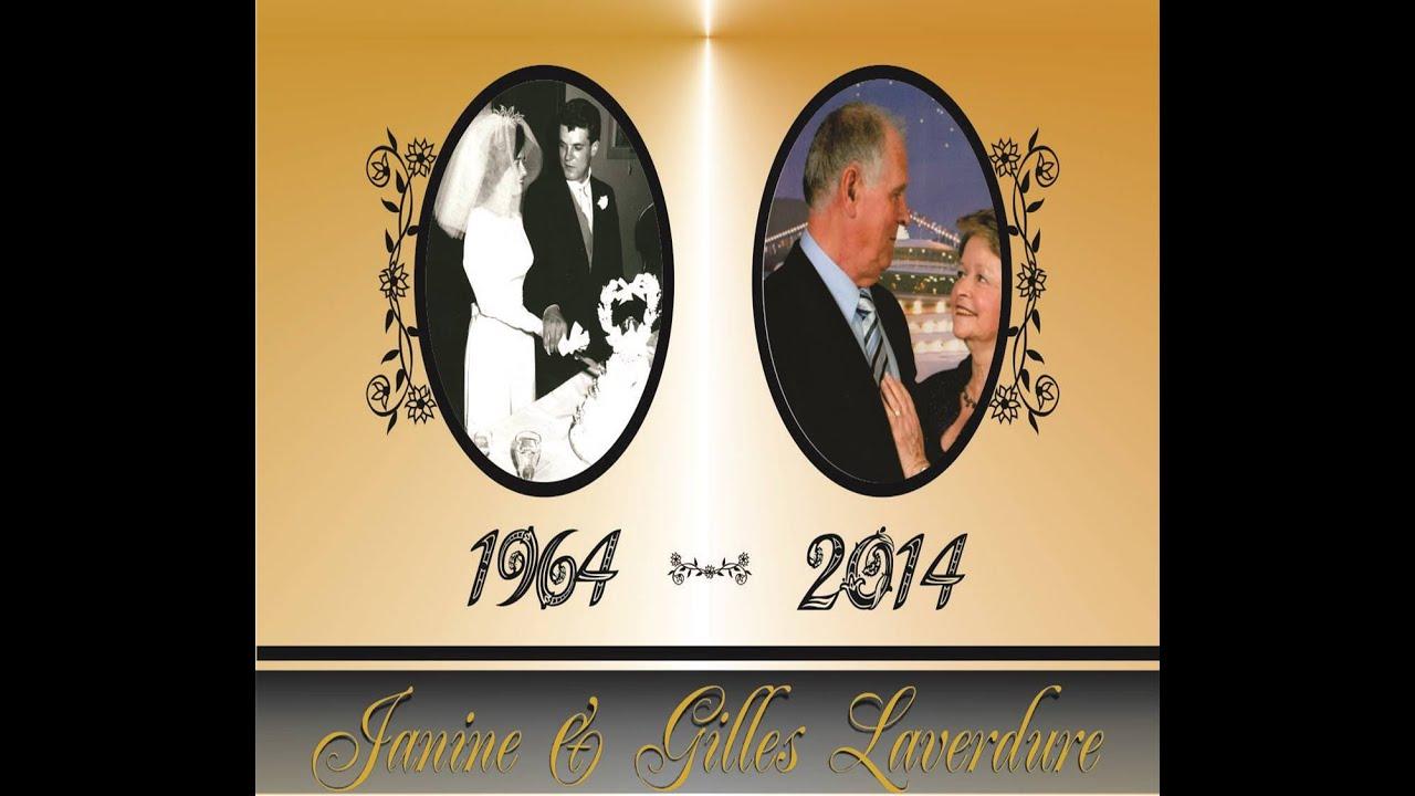 50e anniversaire de mariage janine et gilles laverdure for Robes formelles pour 50e anniversaire de mariage