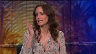 sarah wayne callies on how josh holloway fought for her with colony