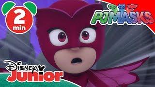 PJ Masks | PJ Masks Vs. Bad Guys 💥 | Disney Junior UK