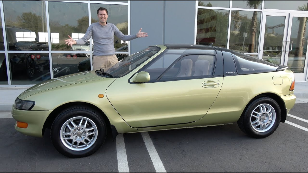 Here's Why the Toyota Sera Was the Weirdest 1990s Toyota