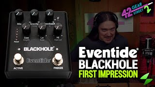 Eventide Blackhole Reverb Pedal First Impression