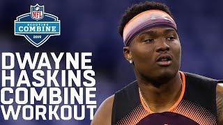 Dwayne Haskins Combine Workout | 2019 NFL Scouting Combine Highlights