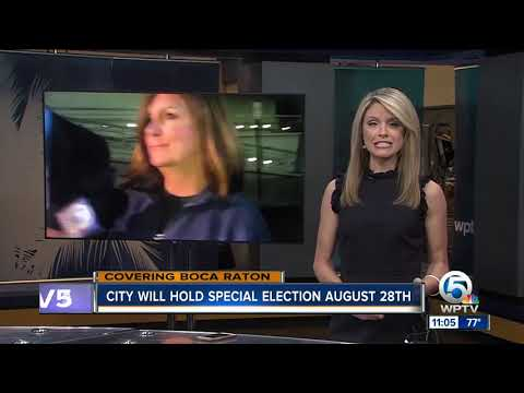 City of Boca Raton will hold special election August 28