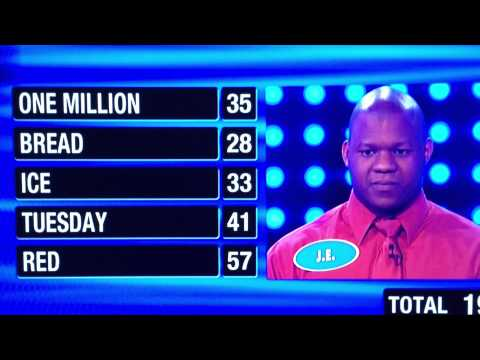 Thumbnail: Family Feud 1st Contestant gets 194 points! AWESOME!