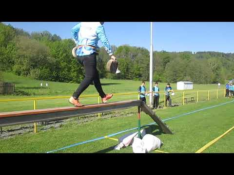 Okrsek Heřmánky 2019 . Richard Baller - 100 M Překážky 1. Pokus