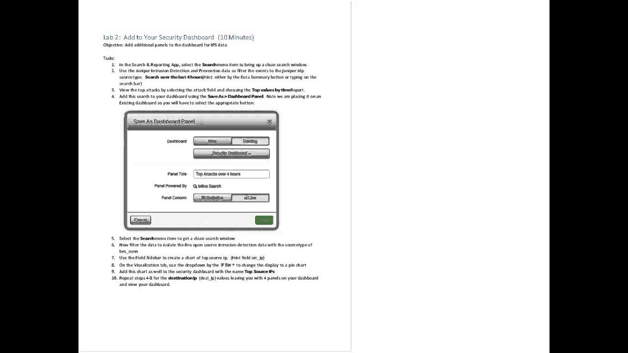 Splunk for Security Bootcamp Webinar
