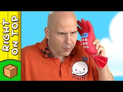 Crafts Ideas for Kids - Plastic Glove Handphone | DIY on BoxYourSelf