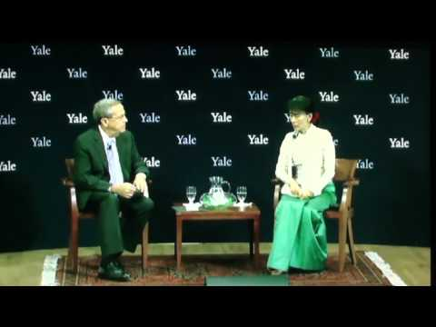 Daw Aung San Suu Kyi interview wih Yale University