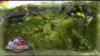 Jurassic Park Operation Genesis Modded Livestream 1 - Lets get this park Started [No Commentary]