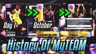 The History Of NBA 2K19 MyTEAM (Documentary)