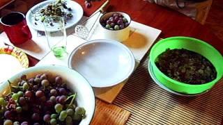 Давление виноградного сока