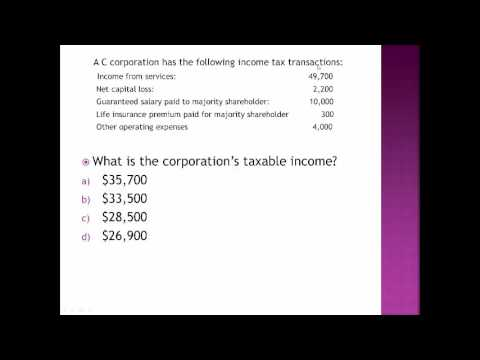 16 11 Calculating Corporate Net Income