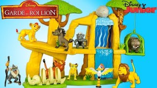 La Garde du Roi Lion Kion Terre des Lions 10 Figurines Lion Guard Pride Lands Playset Disney Jouet
