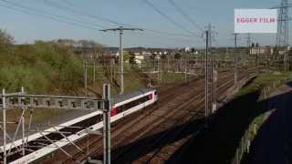 Entlang der SBB NBS  / Swiss high speed train corridor