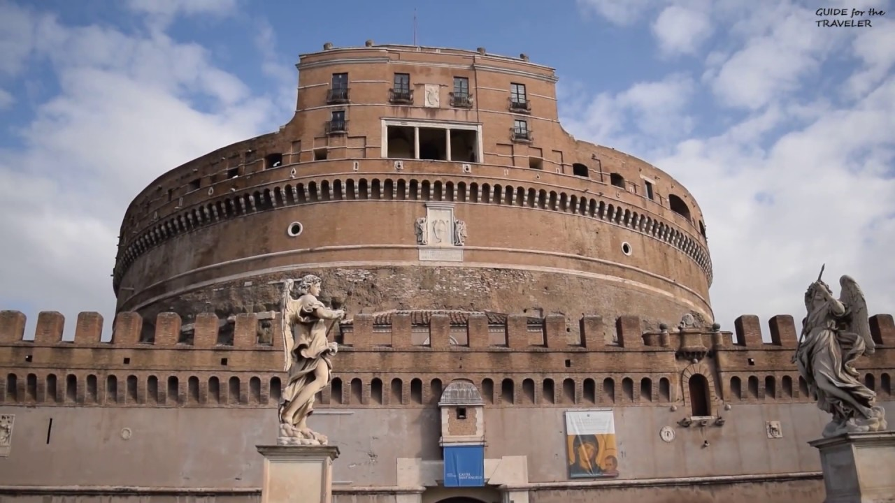The Castel Sant Angelo Tour Rome Italy Youtube