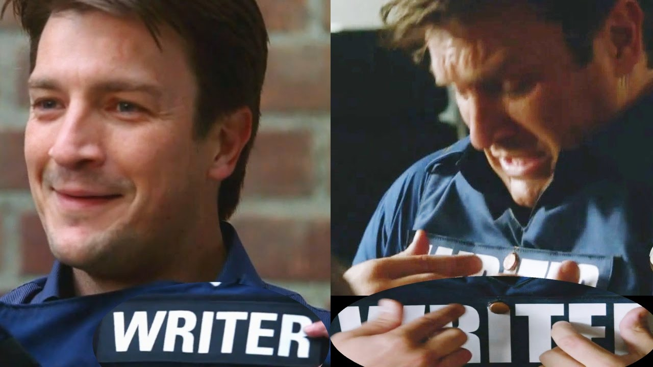 "Castle 6x04 Moment: She dotted the ""i"" -  with Castle's Writer Vest First Appearance"