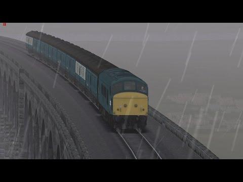 BR Class 45 Peak on the SnC (Train Simulator 2015) LOCO TV UK |