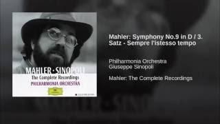 Mahler: Symphony No.9 in D / 3. Satz - Sempre l