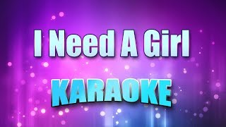 P Diddy & Usher & Loon - I Need A Girl (Karaoke & Lyrics)