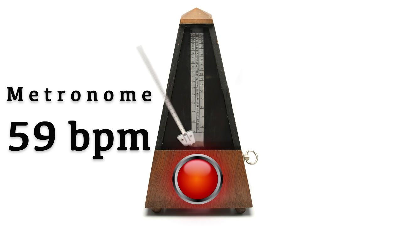 Metronome 59 bpm