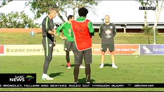 Bafana gears up for Egypt game on Saturday