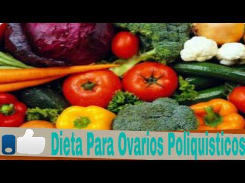 Dieta semanal para ovarios poliquisticos