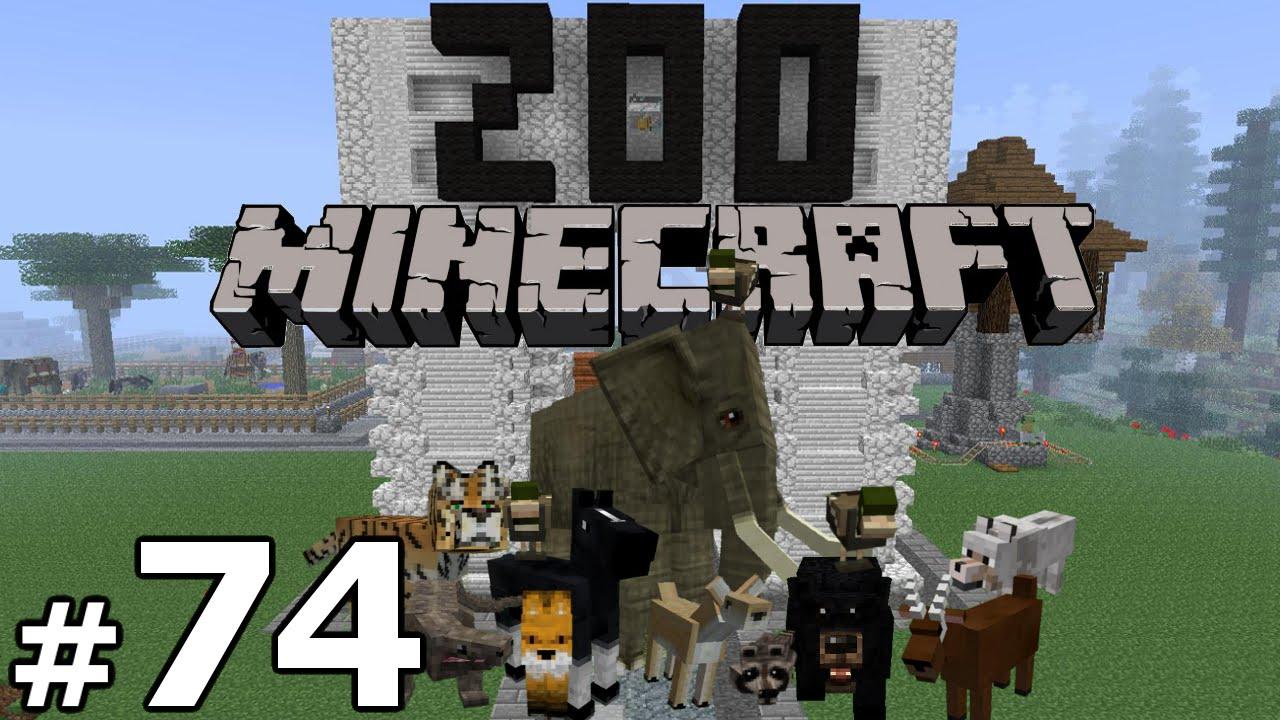Minecraft Zoo Build - Part 11 - STARTING A NEW EXHIBIT