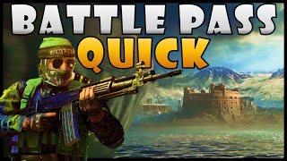 Fastest Way to Rąnk Up Season 2 Battle Pass on Warzone (Tier Up Battle Pass Quick Cold War)