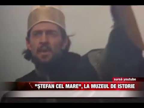 """""""Ștefan cel Mare"""", la Muzeul de Istorie"""