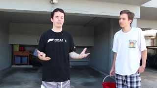 ALS Ice Bucket Road Trip Challenge - Downward Viral