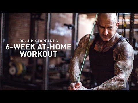 6-Week At-Home Workout by Dr. Jim Stoppani