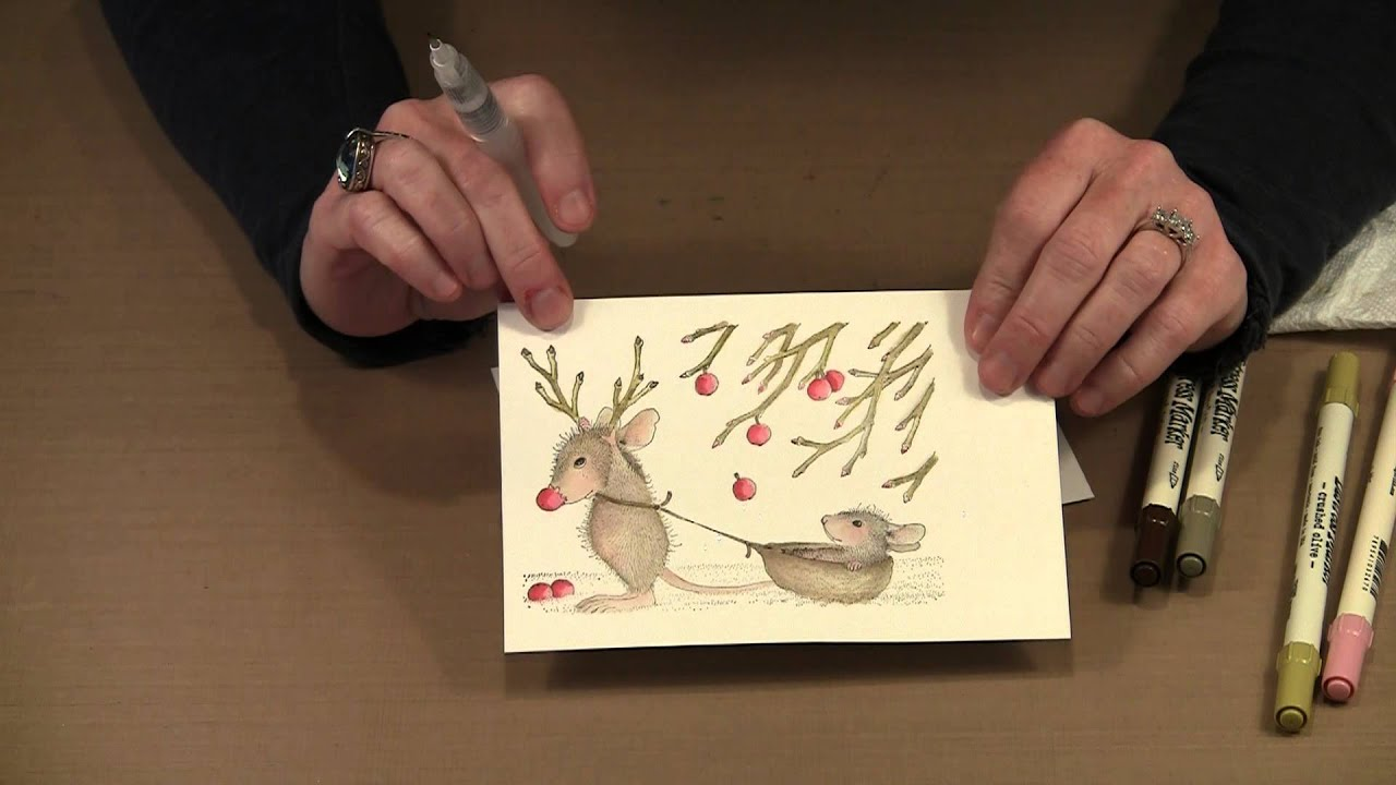 2013 Holiday Cards With House Mouse By YouTube