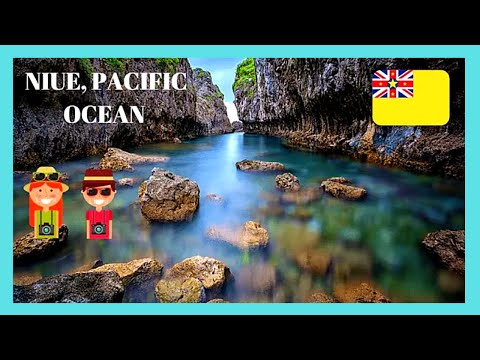 NIUE, incredible NATURE at MATAPA CHASM (GORGE) in the SOUTH PACIFIC