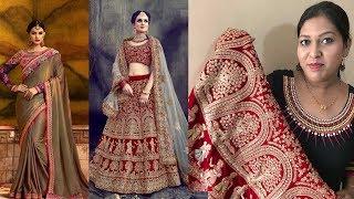 Stylish & Designer Saree & Lehanga Choli  ll Online Shop ll 22 May 2018