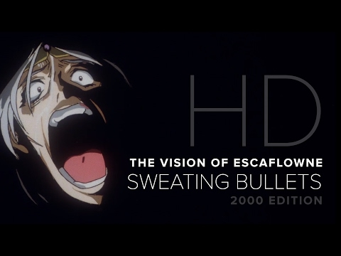 Escaflowne  Sweating Bullets  HD Remastered  AMV  AX 2000  Best Action