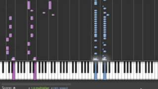 Bleach Opening 9: Velonica Piano version