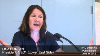 What went wrong in dezoned District 1 as told by Lisa Donlan, CEC1 President
