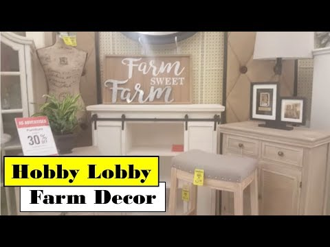 Hobby Lobby Home Decor | Farm Decor | Huge Selection