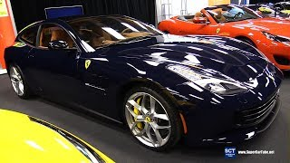2019 Ferrari GTC4 Lusso T - Exterior and Interior Walkaround - 2019 Montreal Auto Show