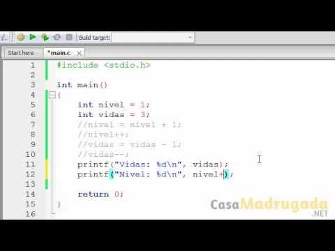 Tutorial Programacion en C - 7 - Operadores de Incremento