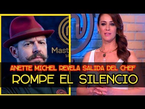 Anette Michel ROMPE EL SILENCIO Y REVELA LOS MOTIVOS DE LA SALIDA DEL CHEF BENITO MOLINA